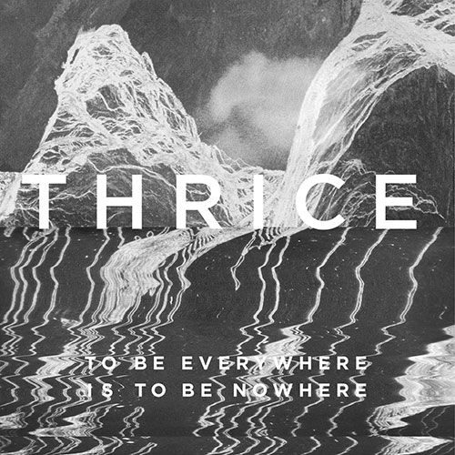Thrice dévoile la pochette de son nouvel album  (actualité)