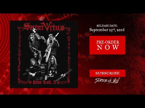 Saint Vitus de retour avec un nouvel album live (actualité)