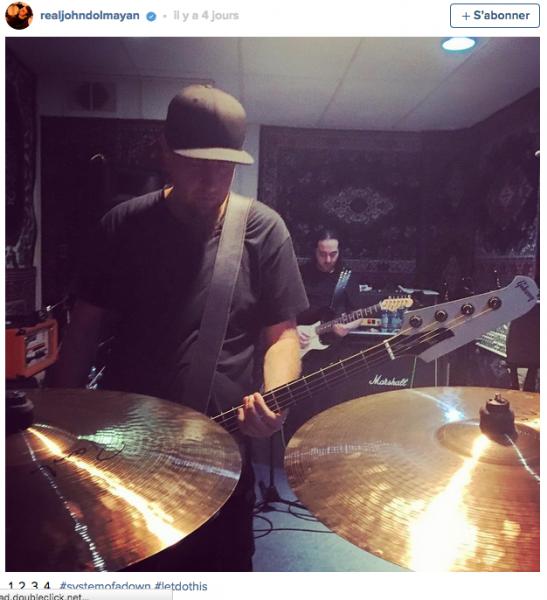 System of a Down est en studio (actualité)