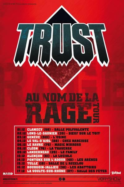 Premières dates pour la nouvelle tournée de Trust (actualité)