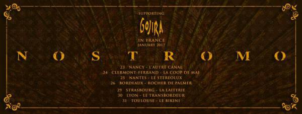 Nostromo revient sur scène et en France (actualité)