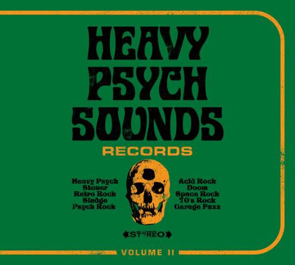 Deuxième CD sampler pour Heavy Psych Sounds (actualité)