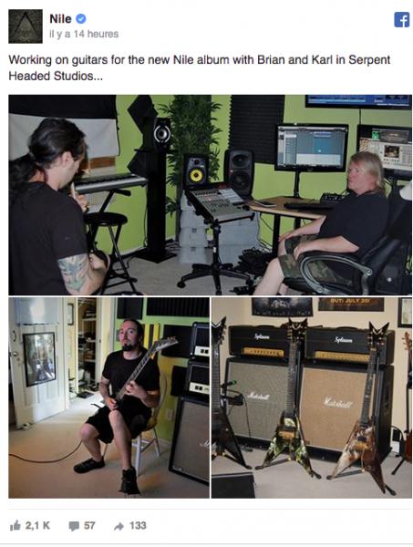 Nile est en studio (actualité)