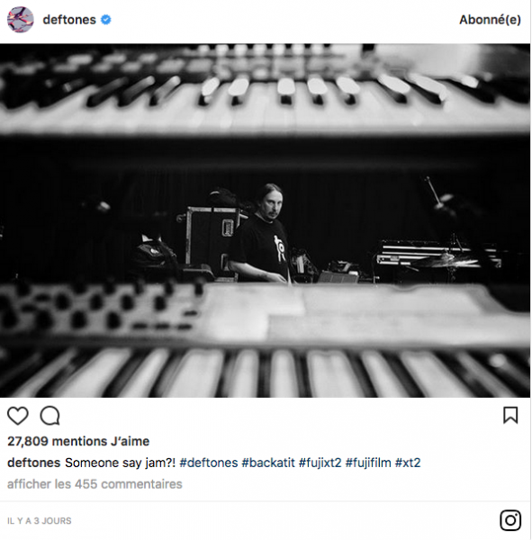 Deftones en studio, mais pour quoi faire? (actualité)