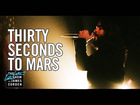 Trump et Kim Jong-un avec Thirty Seconds to Mars (actualité)