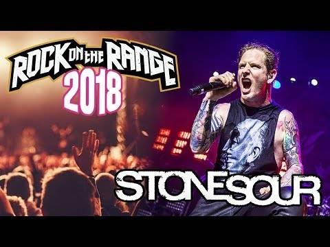 Stone Sour en live au Rock of the Range 2018 (actualité)