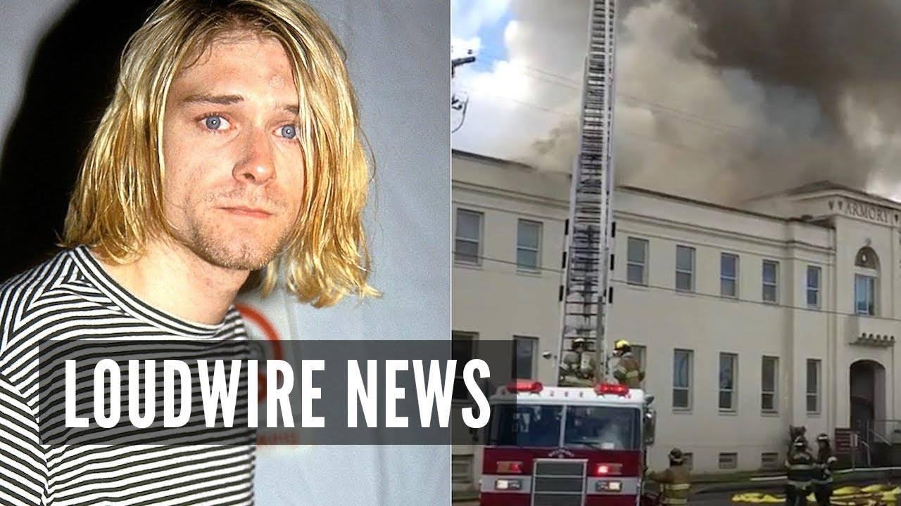 Kurt Cobain victime d'un incendie (actualité)