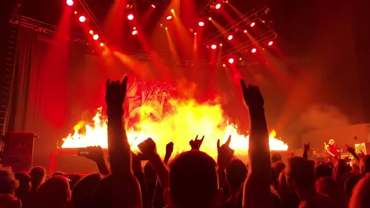 Phil Demmel fait ses débuts avec Slayer (actualité)