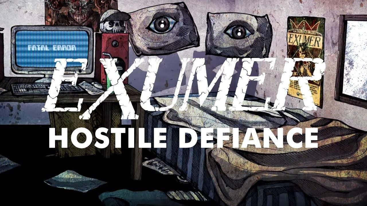 Exumer  fuck\'in\' Hostile Defiance