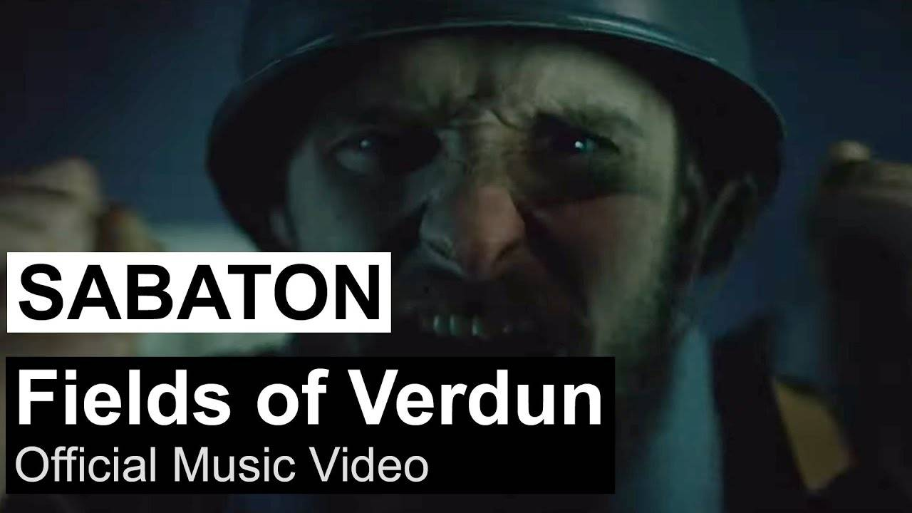 Sabaton visite Verdun (actualité)