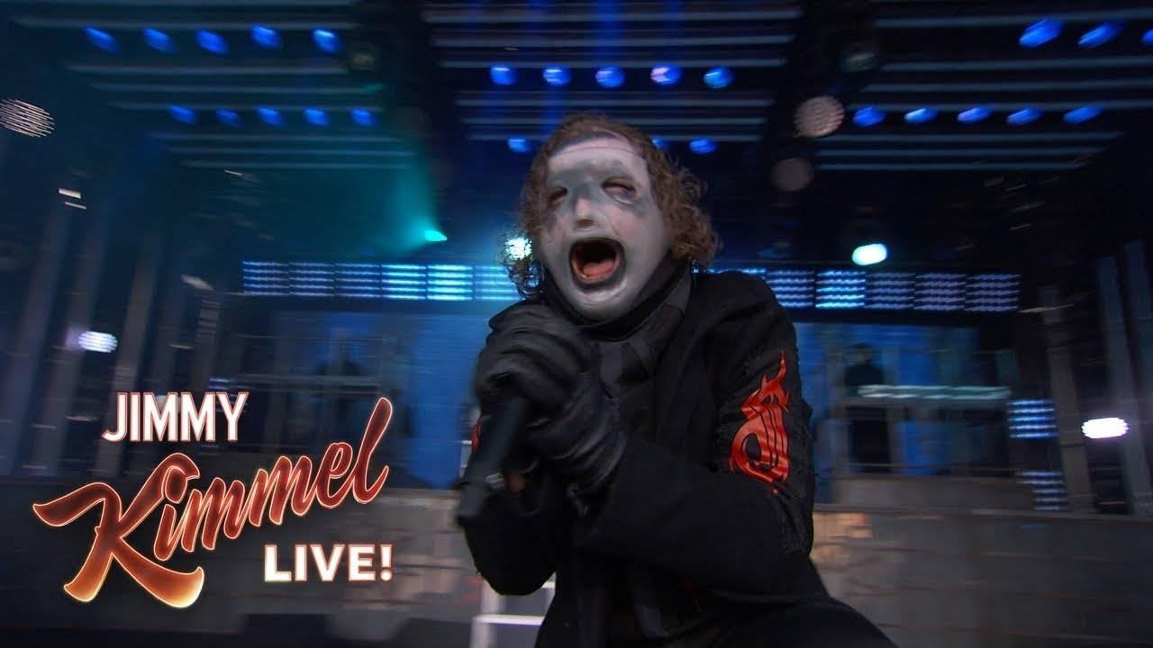 Slipknot en live chez Jimmy Kimmel  (actualité)