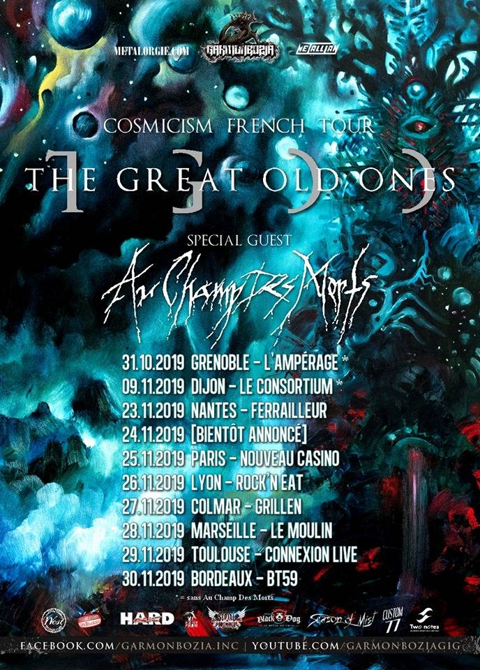 Tournée lovecraftienne pour The Great Old Ones (actualité)