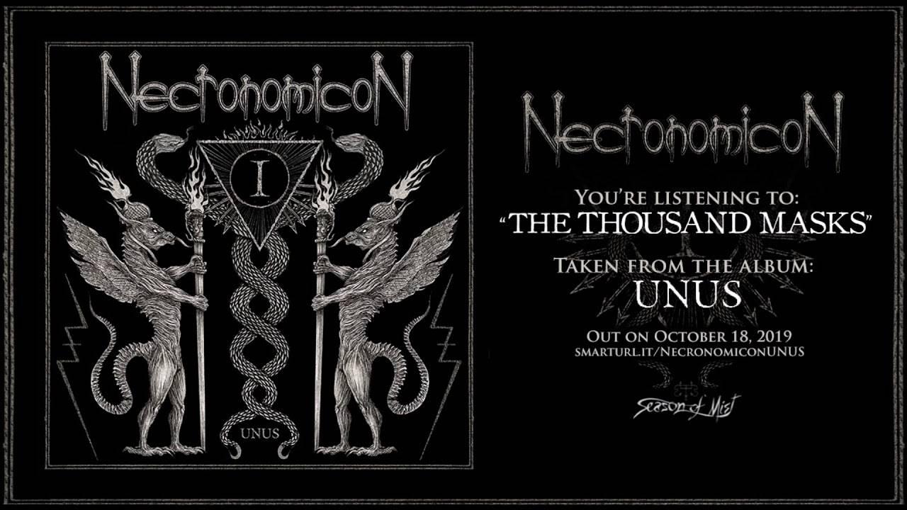 Necronomicon tombe les masques - The Thousand Masks (actualité)
