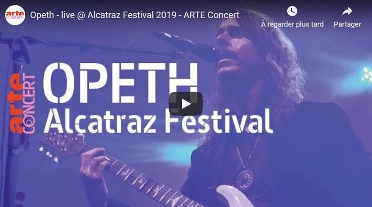 Direction Alcatraz pour Opeth (actualité)