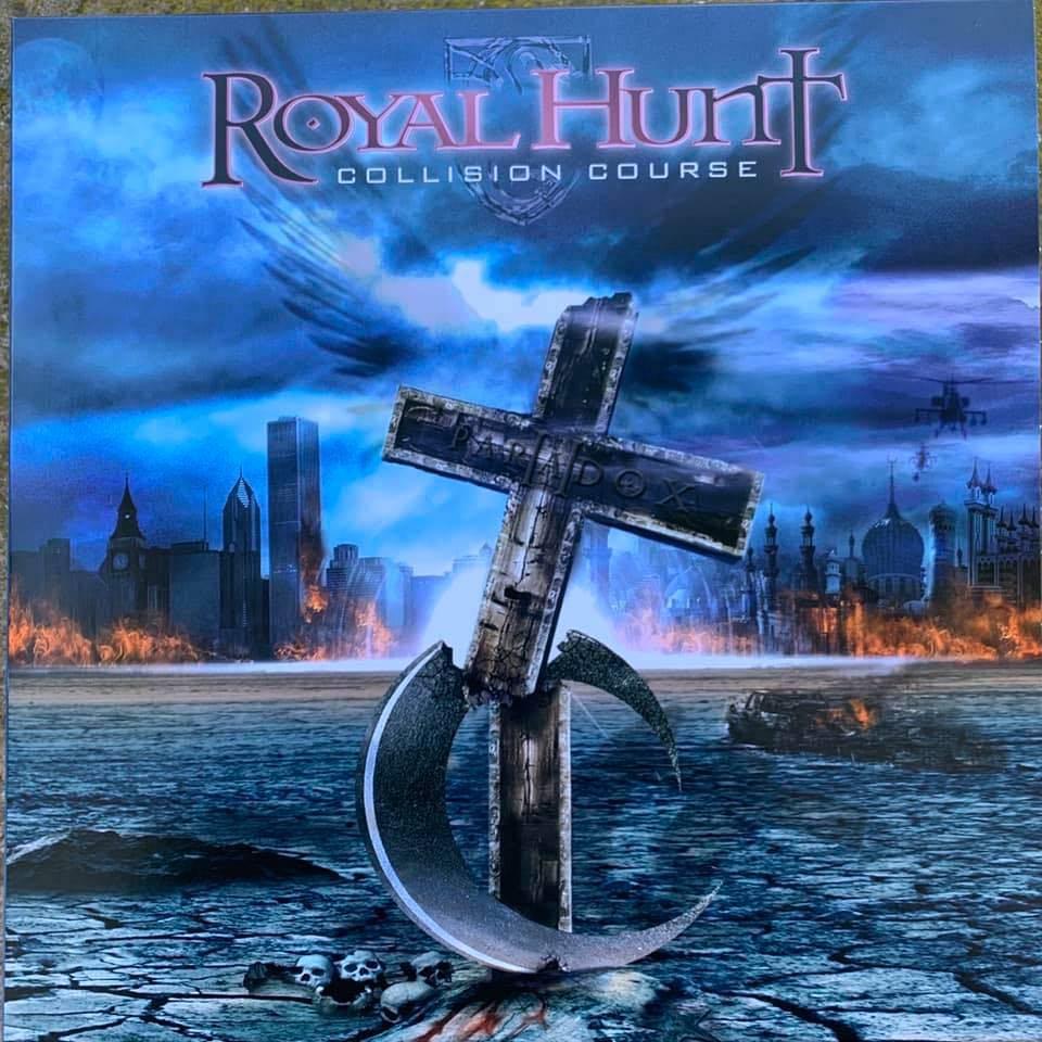 Royal Hunt se cogne dans un vinyle - Collision Course (actualité)