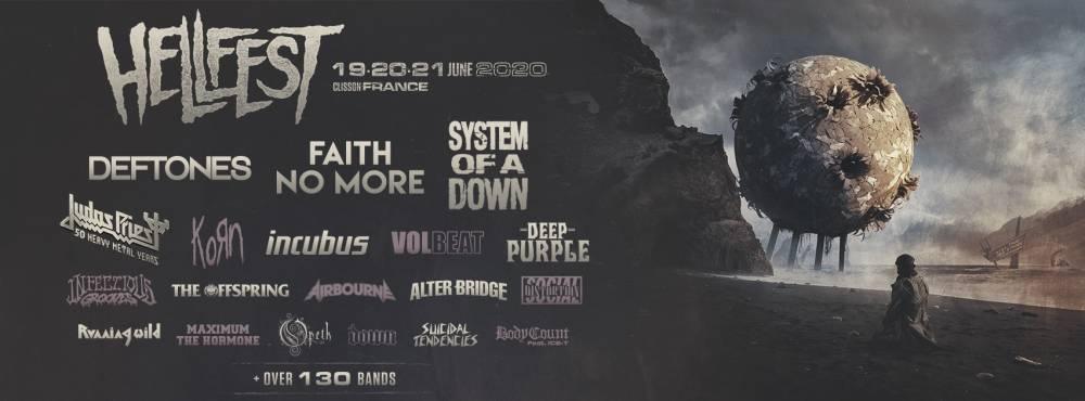 Hellfest 2020 : l'affiche (presque) complète dévoilée (actualité)