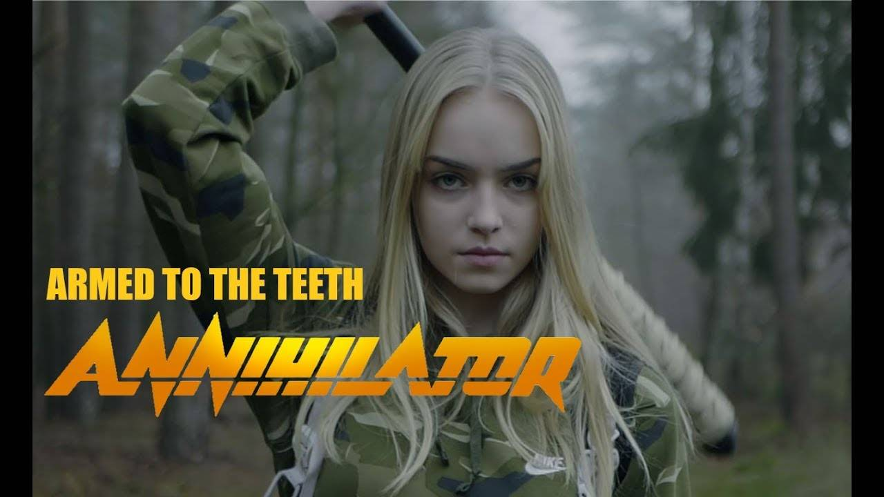Annihilator lourdement armé - Armed To The Teeth (actualité)