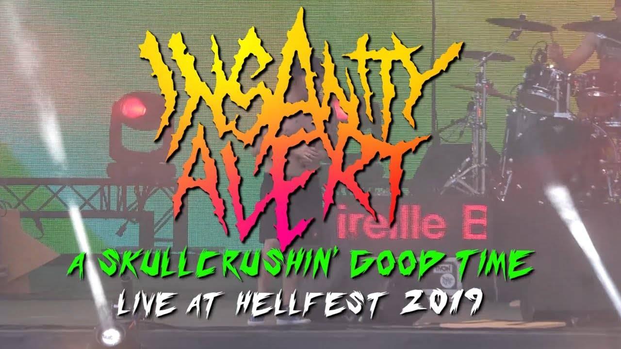 Insanity Alert A Skullcrushin' Good Time live au Hellfest (actualité)