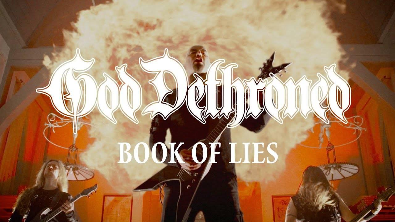 God Dethroned compile les mensonges -Book of Lies (actualité)