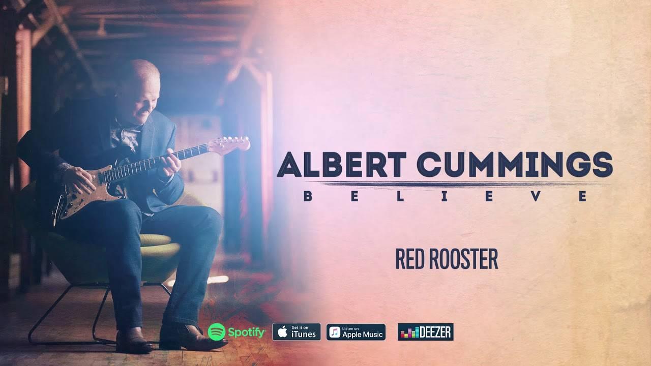 Albert Cummings et son coq -