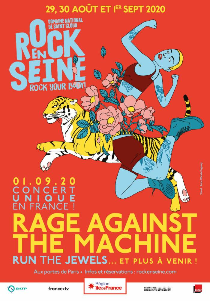 Rock against the Seine