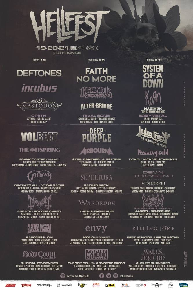 Le Hellfest s'affiche au final (actualité)