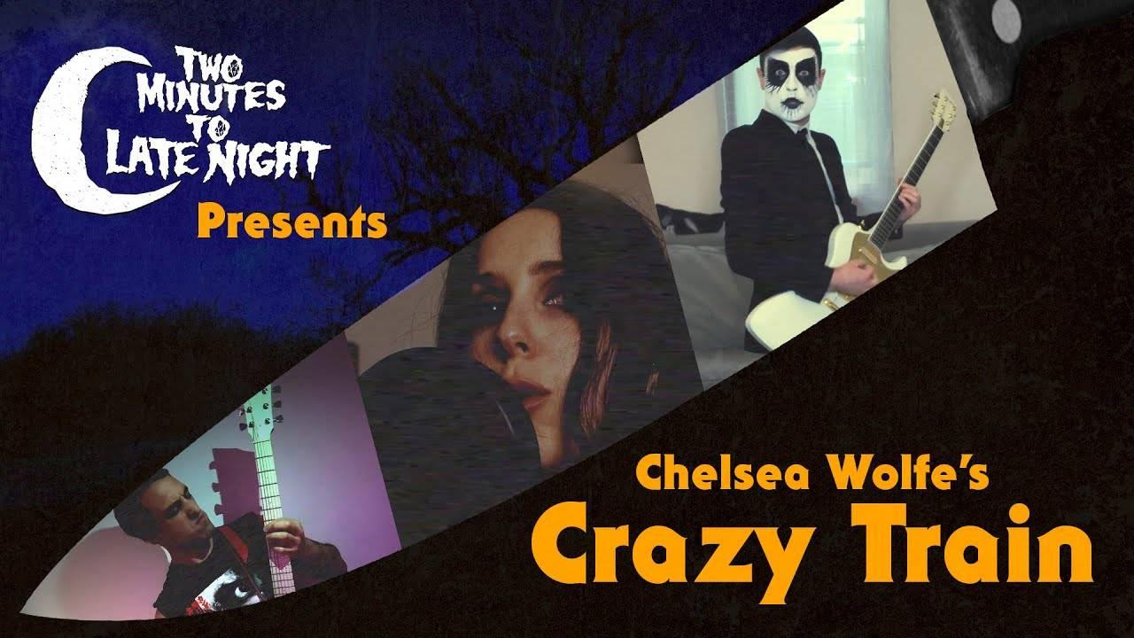 Chelsea Wolfe déclare sa flamme à Ozzy sur le quai - Crazy Train (actualité)
