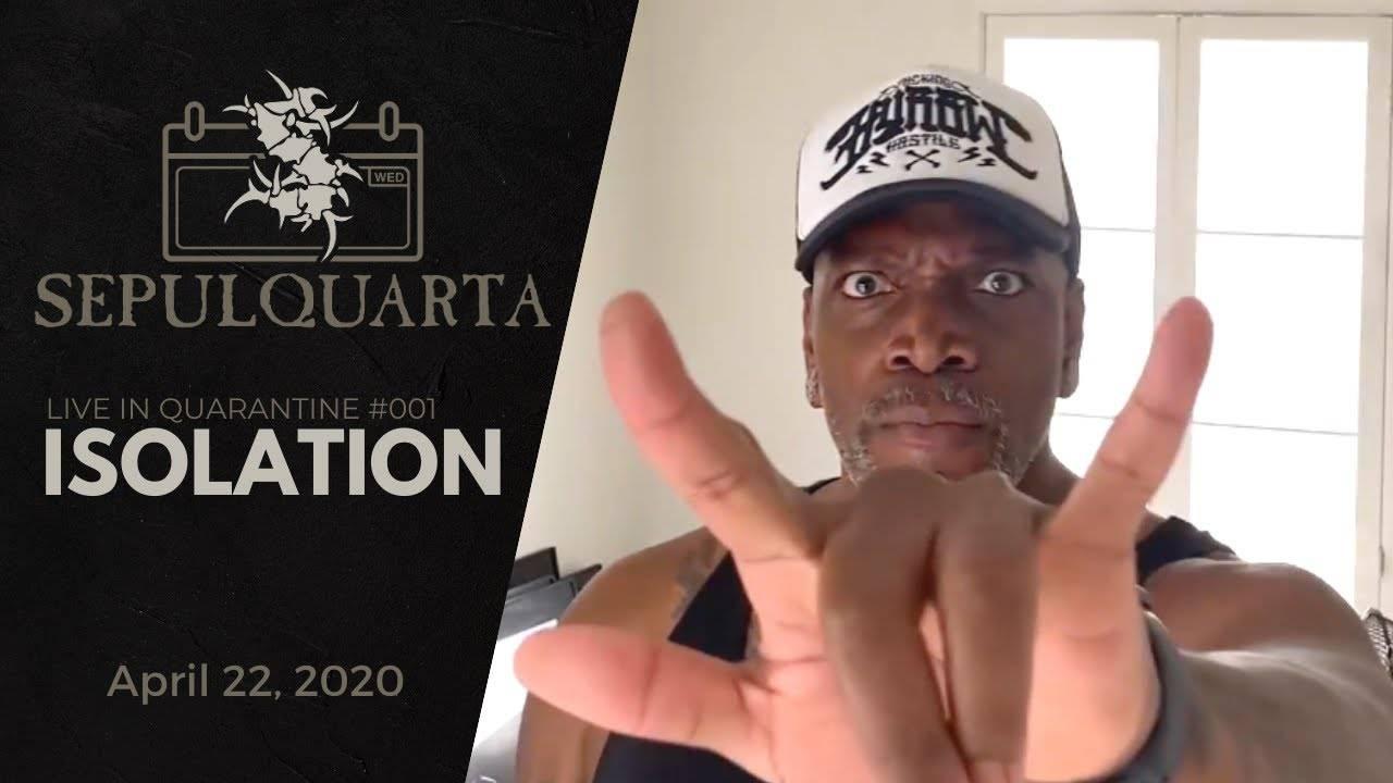 Sepultura isolé en Quadrataine - Isolation (actualité)