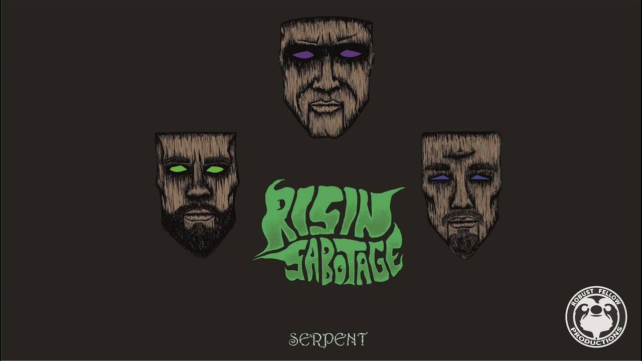 Risin' Sabotage ssssort un clip - Serpent (actualité)