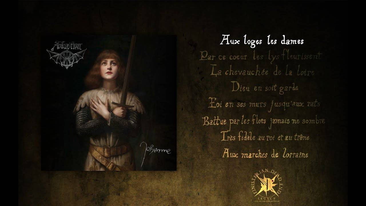 Sainte Jehanne entend les voix d'Abduction  (actualité)