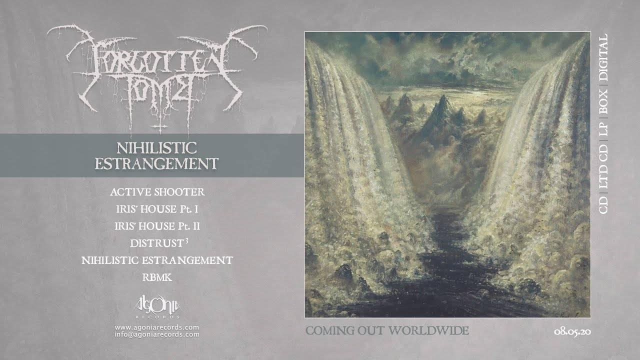 Forgotten Tomb étragement nihiliste - Nihilistic Estrangement (actualité)