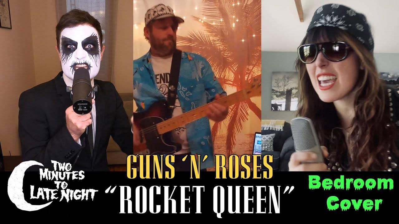 """Two Minutes To Late Night des fusées et des reines - Rocket Queen"""" (actualité)"""