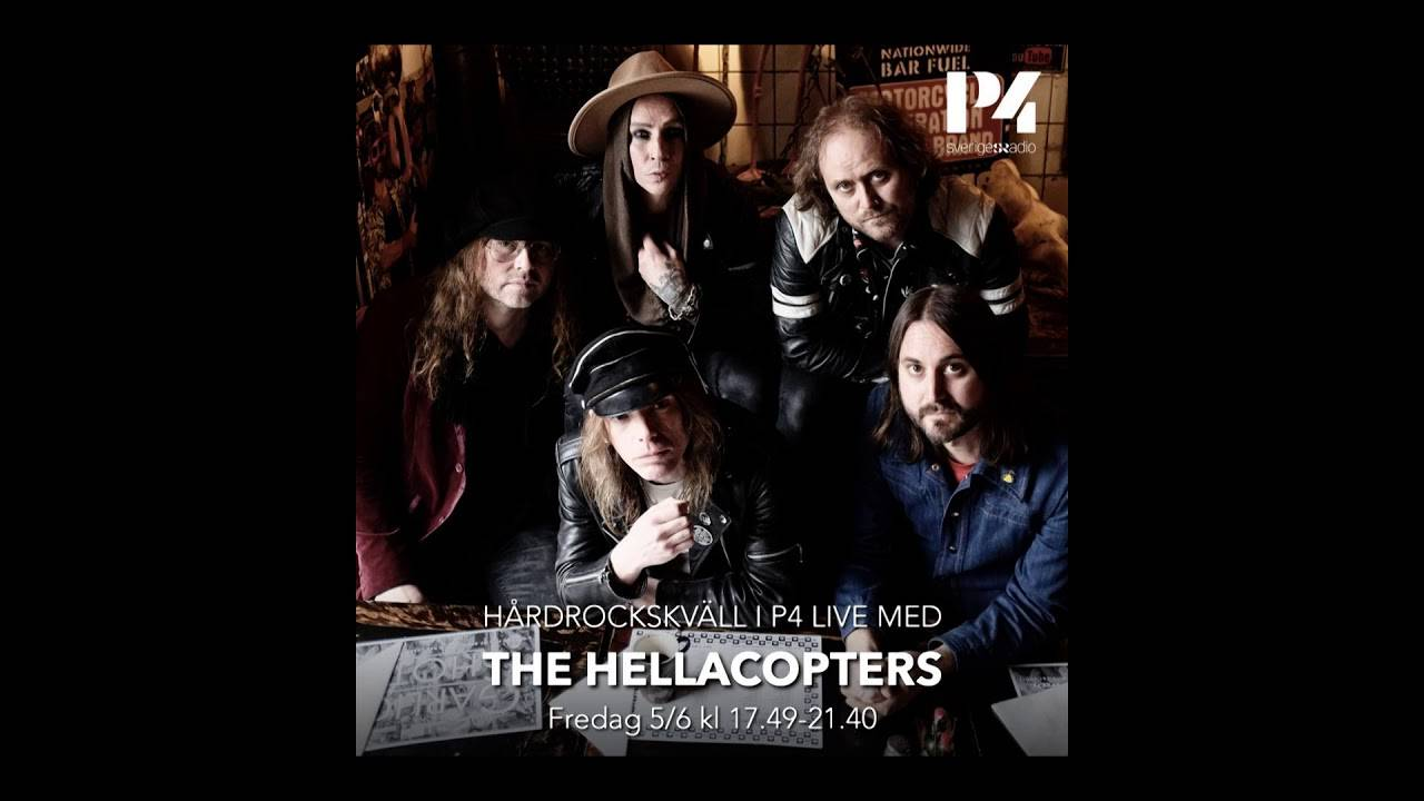 The Hellacopters everything is on radio - live in Stockholm 2020 (actualité)
