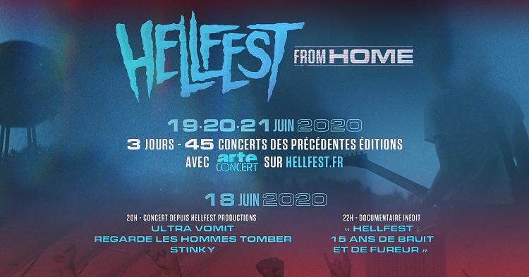 Le Hellfest se confine pour nous ! (actualité)