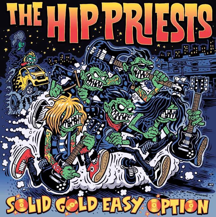 The Hip Priests des gars en or ! - Solid Gold Easy Option  (actualité)