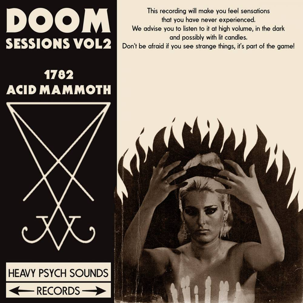 1782 et Acid Mammoth - Doom Sessions Vol.2 (actualité)