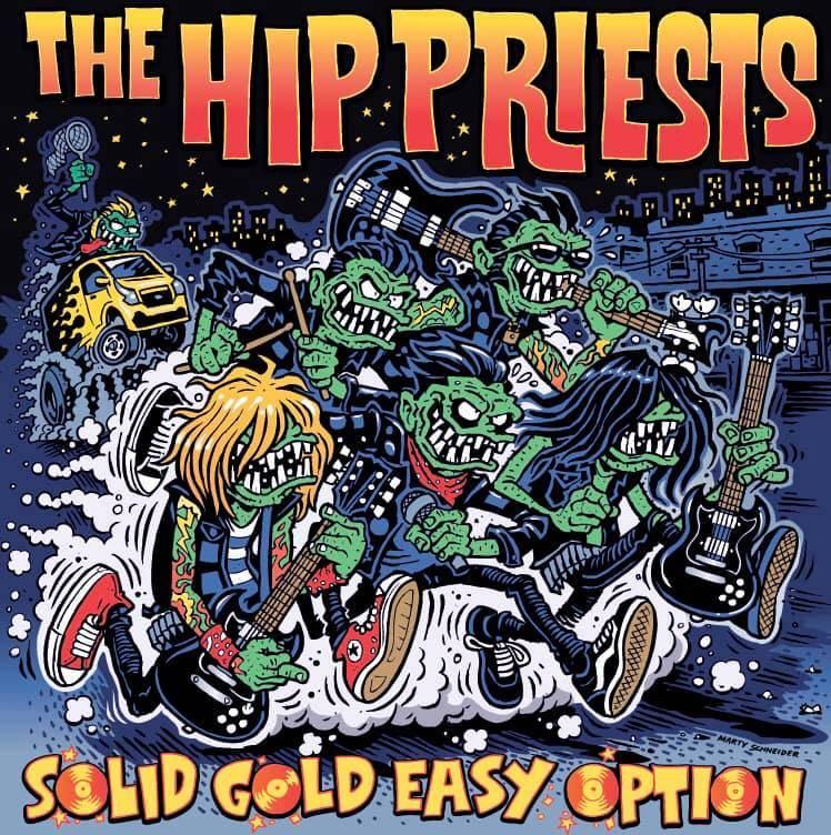 The Hip Priests des gars en or en précommande - Solid Gold Easy Option