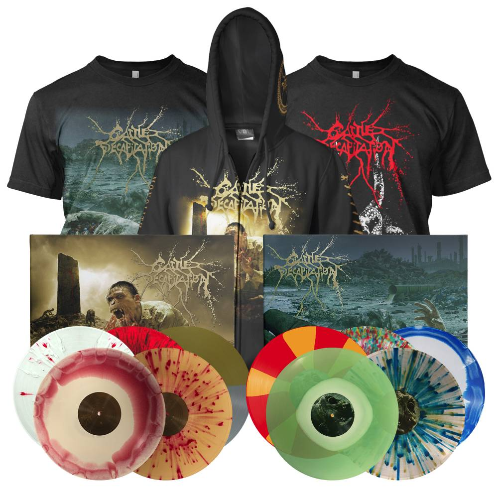 Rééditions vinyles pour Cattle Decapitation -  Monolith of Inhumanity et The Anthropocene Extinction