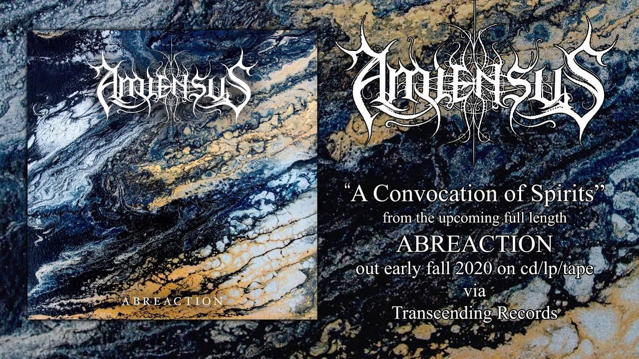 Amiensus se noie sous les convocations - Drowned  et A Convocation Of Spirits  (actualité)