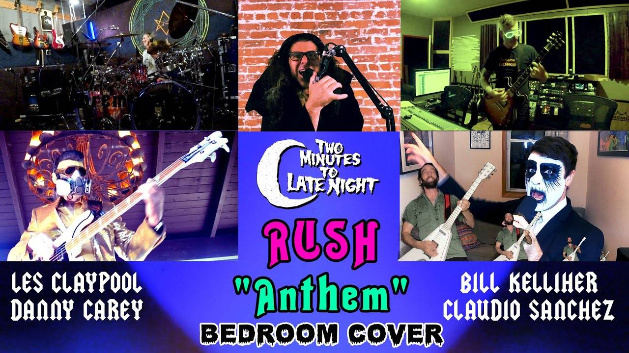 Two Minutes To Late Night en plein Rush - Anthem (actualité)