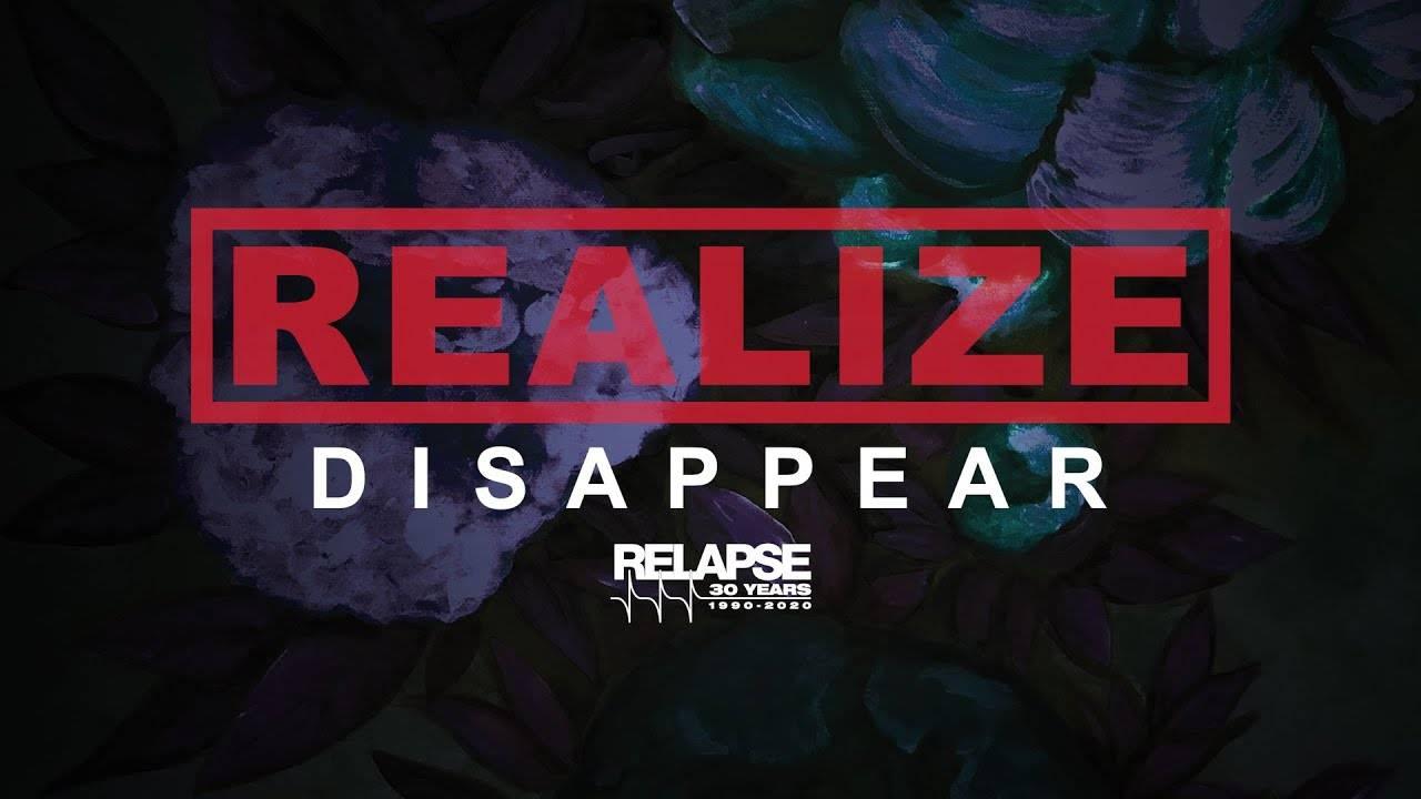 Realize en voie de disparition - Disappear (actualité)