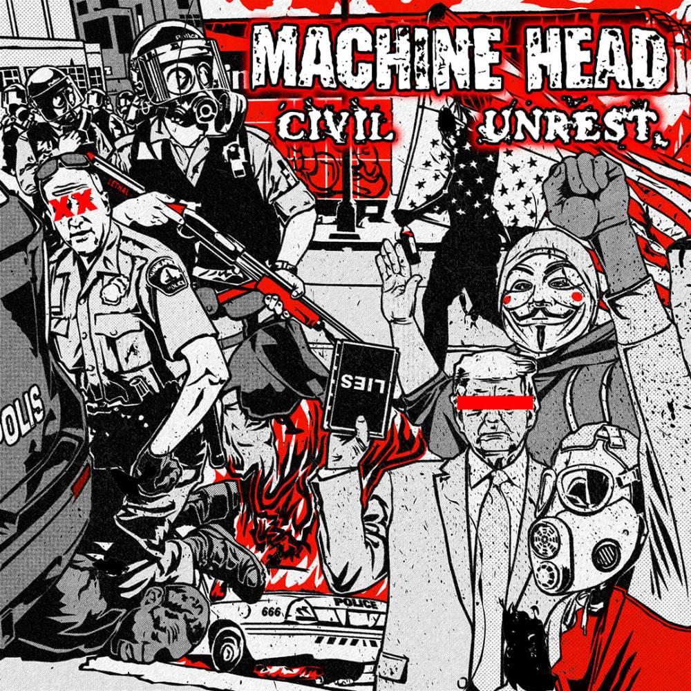 Metal & Black Lives Matter (1) - Machine Head monte en première ligne... (actualité)