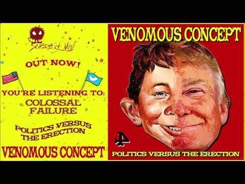 Venomous Concept  une nouvelle manière de faire de la politique - Politics Versus the Erection (actualité)
