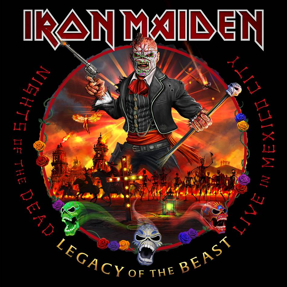 Iron Maiden fête les morts - Nights Of The Dead, Legacy Of The Beast: Live in Mexico City (actualité)