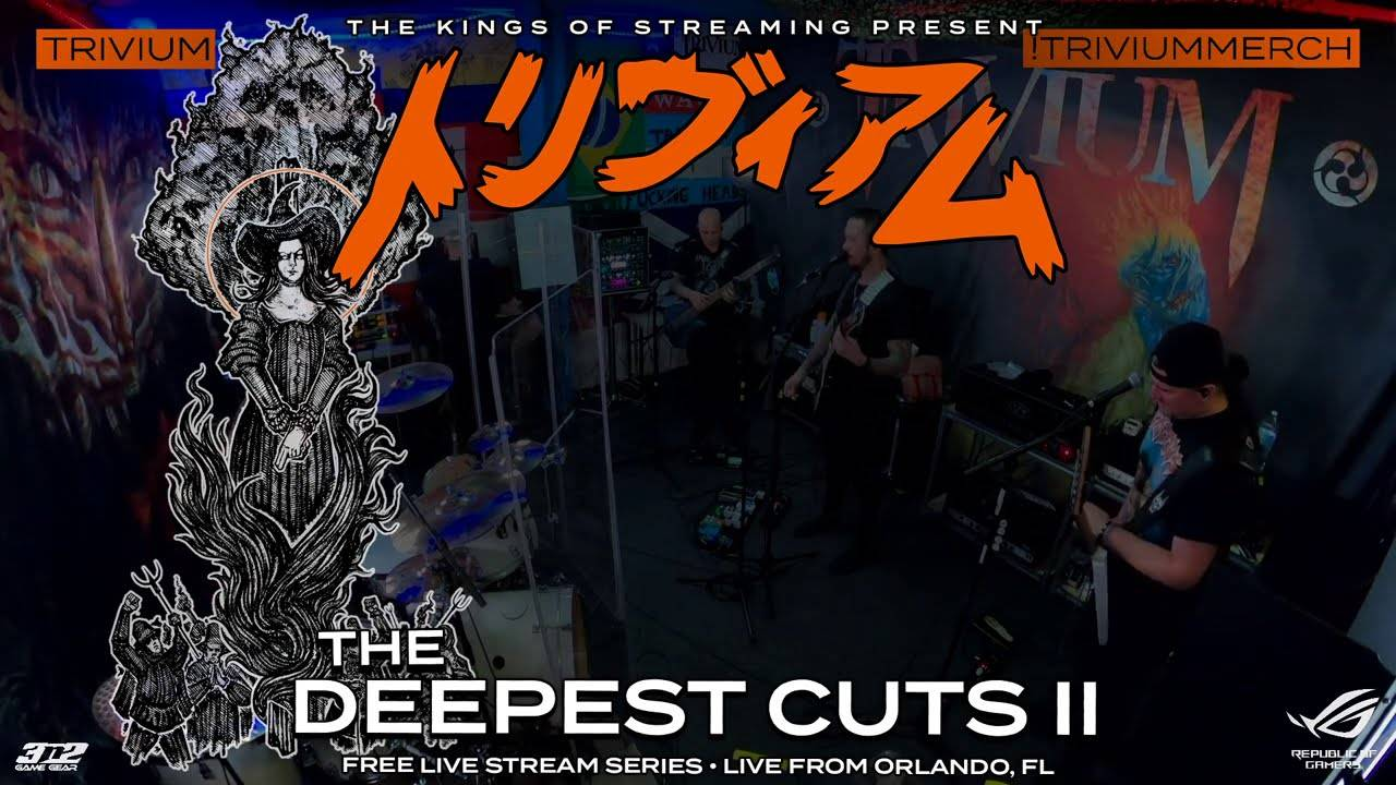 Trivium : The Deepest Cuts II en replay ! (actualité)