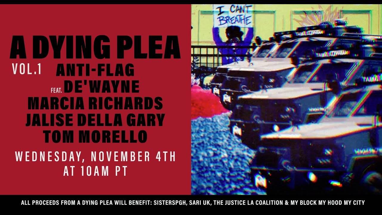 Le plaidoyer d'Anti-Flag première partie - A Dying Plea Vol. 1 (actualité)