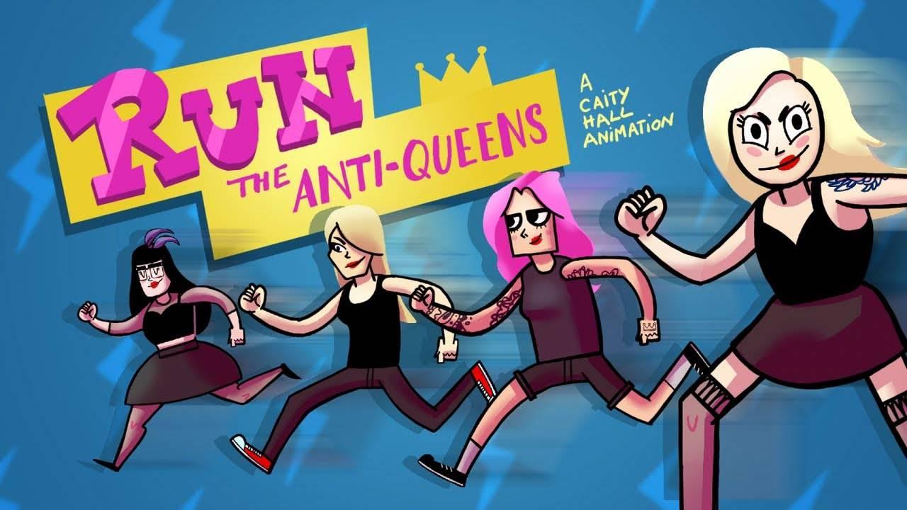 Courez The Anti-Queens, courez - Run (actualité)