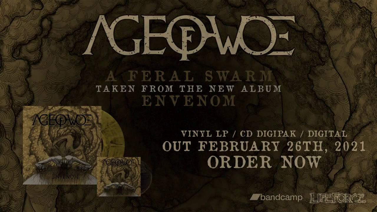 Age Of Woe rentre chez Cronos - A Feral Swarm (actualité)