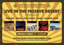 des stonedheads dans le desert (depuis trop longtemps) - Live In The Mojave Desert Vol. 1-5