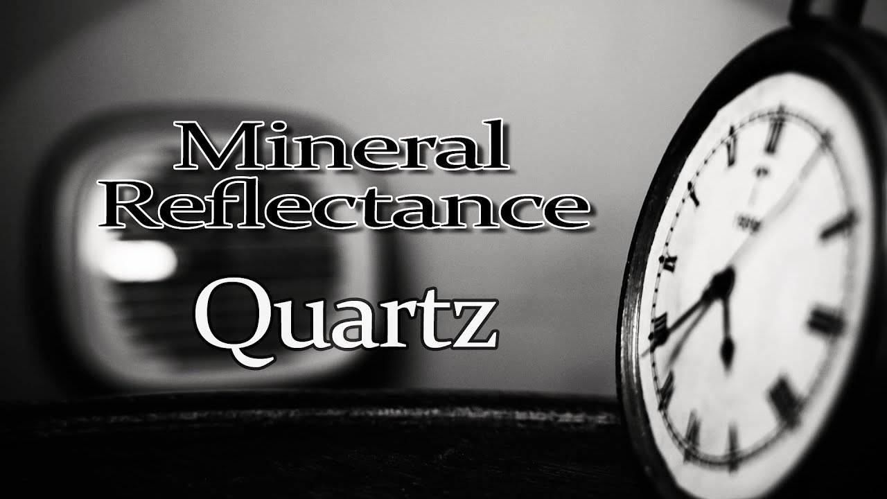 Et finalement c'est à l'heure que Mineral Reflectance nous montra Quartz (actualité)